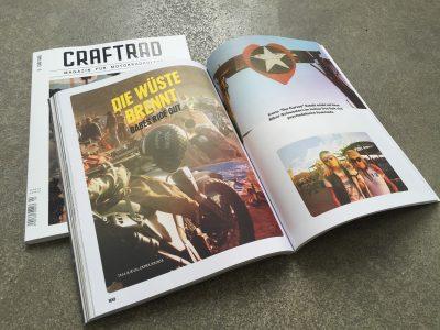 Craftrad Magazin 5/2016 – Die Wüste brennt